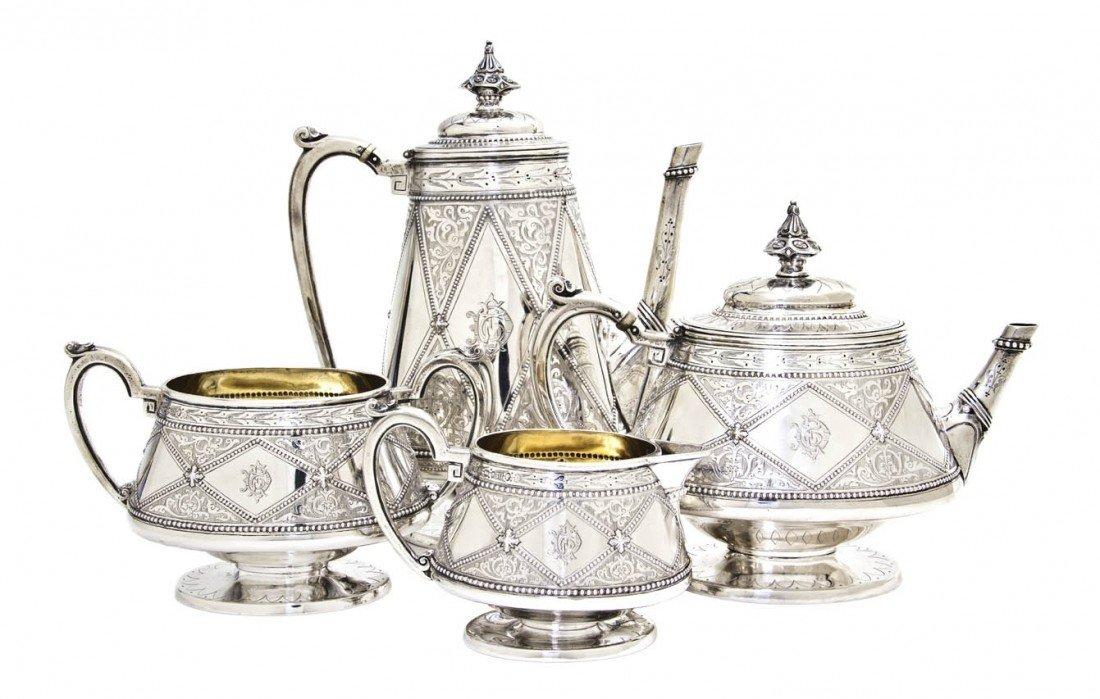 967: An English Silver Tea and Coffee Service, Robert H