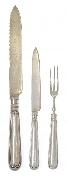 An English Silver Poultry Service, Martin, Hall &