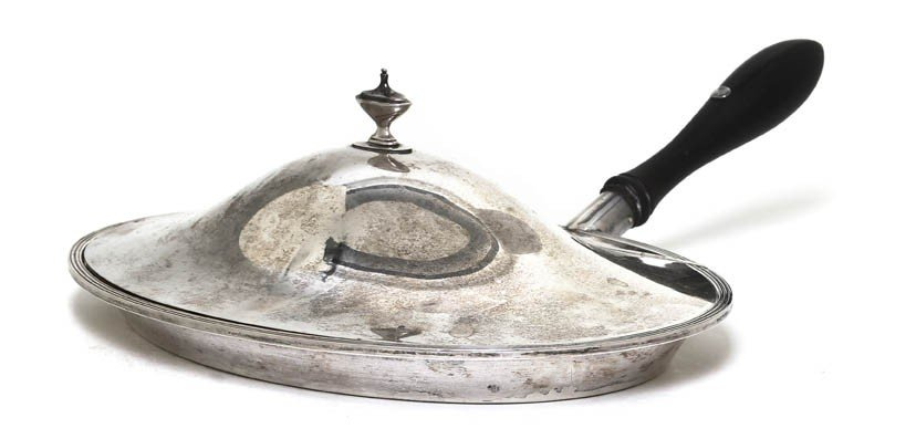 995: An English Silver Silent Butler, Elkington & Co.,