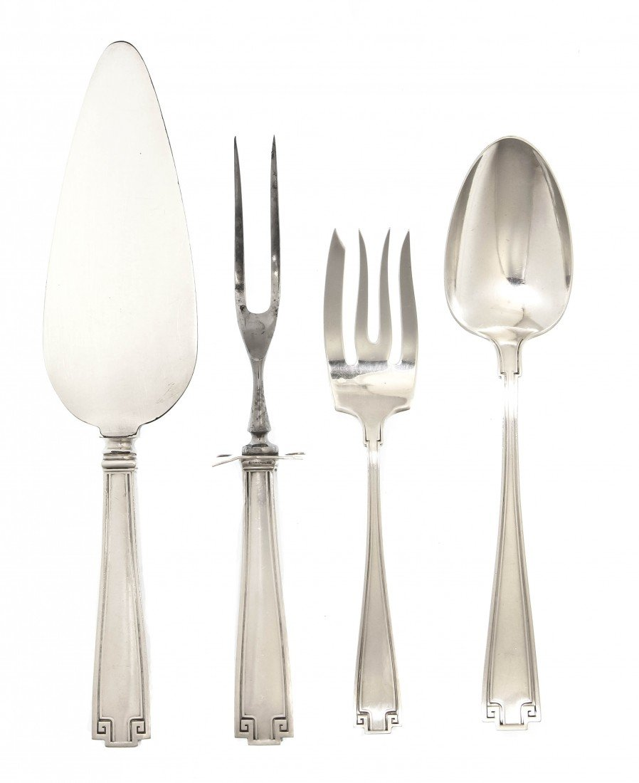 1159: An American Sterling Silver Partial Flatware Serv