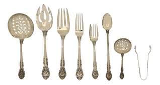 1160: An American Sterling Silver Flatware Service, Gor