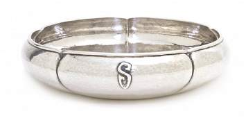 1322: An American Arts and Crafts Sterling Silver Bowl,
