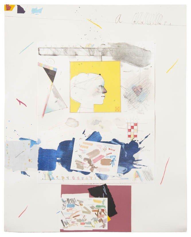 5: Raymond Saunders, (American, b. 1934), Untitled (Pro