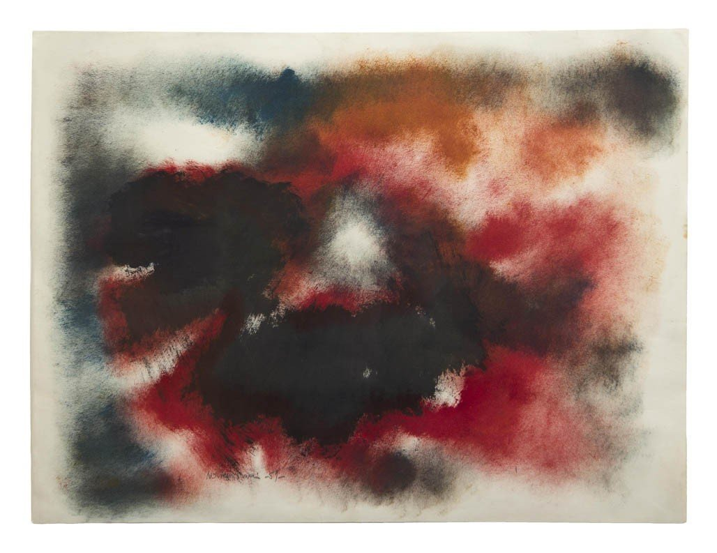 7: Norman Lewis, (American, 1909-1979), Untitled, 1959