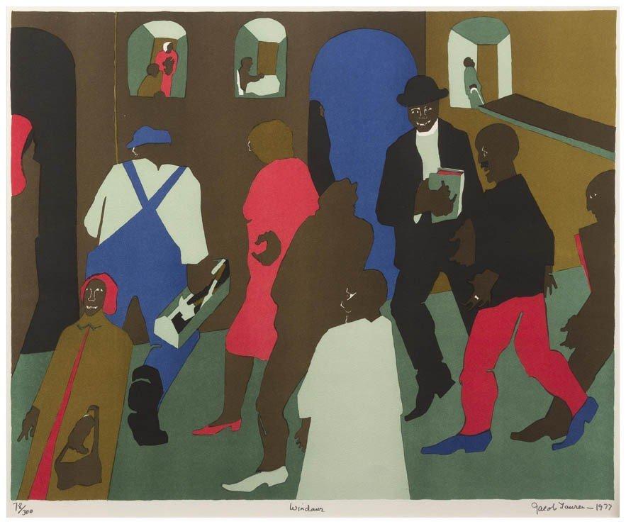 15: Jacob Lawrence, (American, 1917-2000), Windows, 197