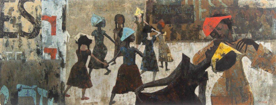 18: Charles McGee, (American, b. 1924), Ring Around the
