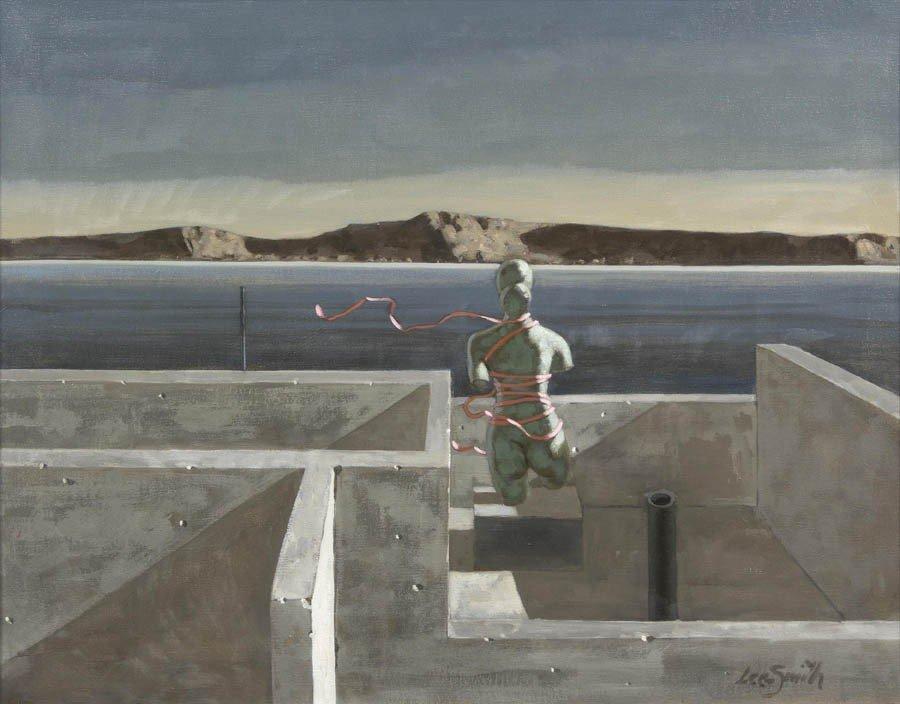 20: Hughie Lee-Smith, (American, 1915-1999), Acropolis