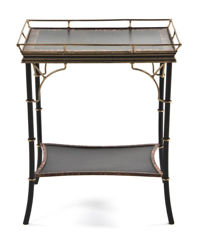2334: A Regency Style Painted Occasional Table, Height