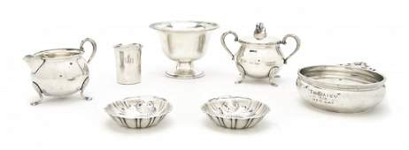 2496 A Collection of American Sterling Silver Articles