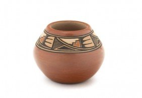 A Jemez Miniature Pot, Height 2 X Diameter 2 3/4 In
