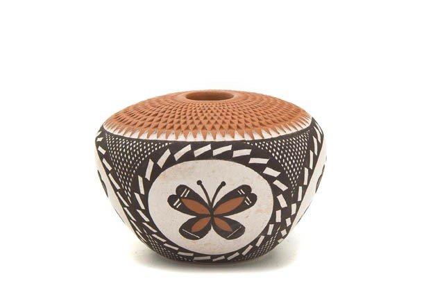 117: An Acoma Miniature Seed Jar, Height 1 1/2 x width