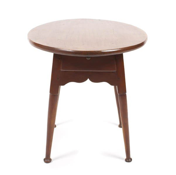 10: An American Various Woods Occasional Table, Height