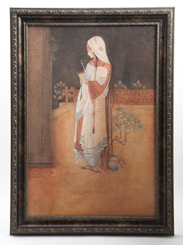 2087: After Abdur Rahman Chughtai, (Pakistan, 1897-1975
