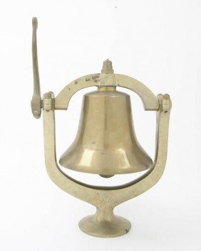 An American Brass Ship's Bell, John Cherko, Heigh