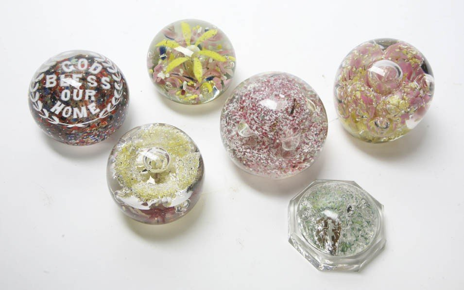 2098: A Collection of Twelve Paperweights, Height of ta