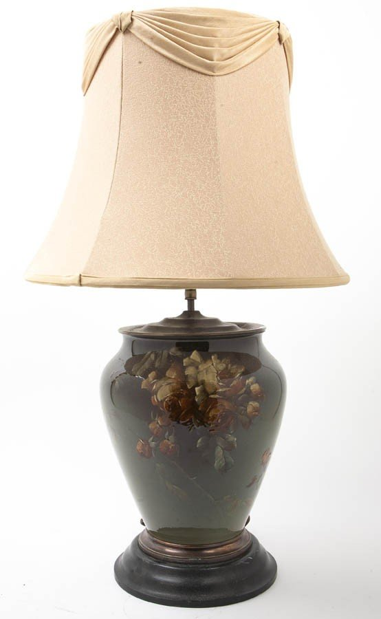 2102: A French Glazed Art Pottery Vase, Height of vase