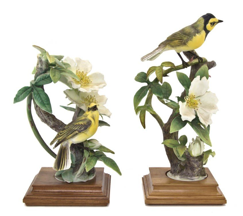 2109: A Pair of Royal Worcester Dorothy Doughty Birds,