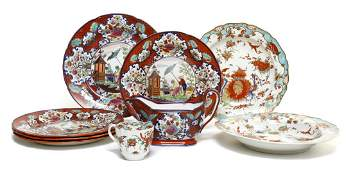 2177 A Collection of English Pottery Articles Width o