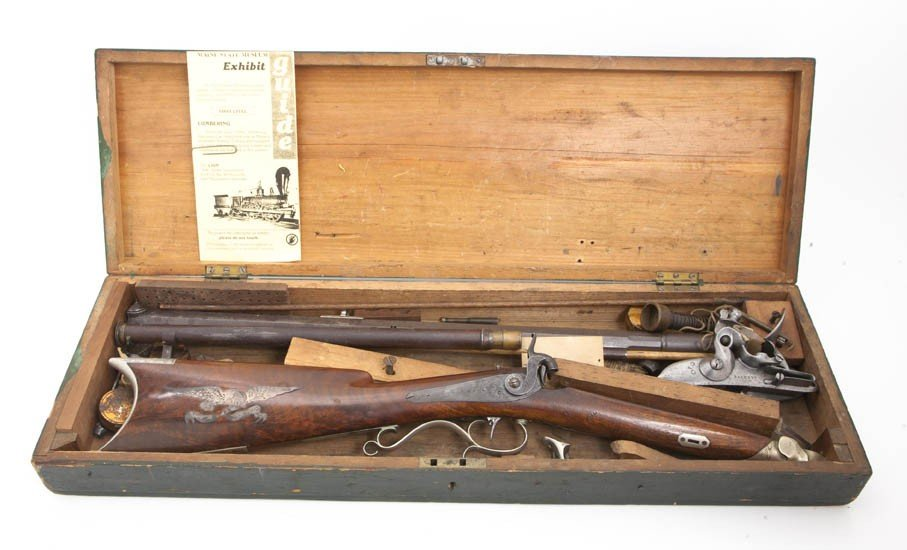 2321: An American Percussion Cap Rifle, Length overall