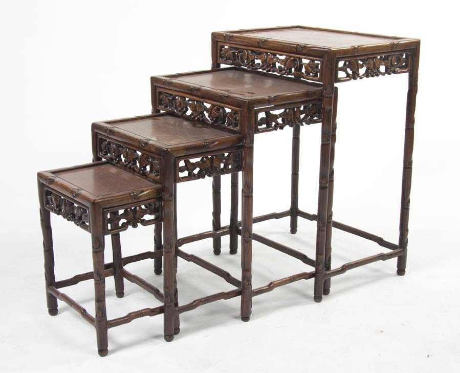 2429: A Set of Four Chinese Nesting Tables, Height of t