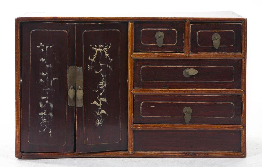 2430: A Chinese Medicine Chest, Height 14 1/4 x width 2