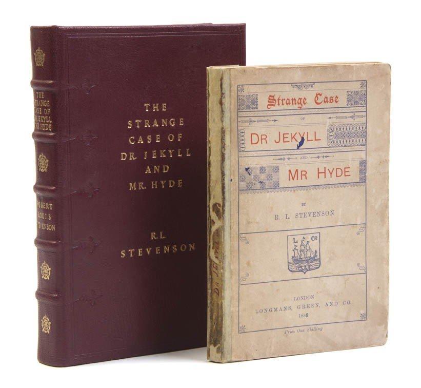 20: STEVENSON, ROBERT LOUIS. The Strange Case of Dr. Je