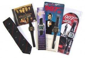 (FLEMING, IAN) BOND COLLECTABLES. Men's Tie, Four W