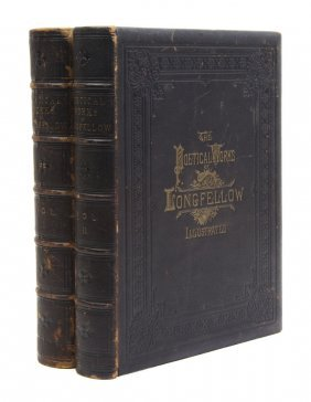 LONGFELLOW, HENRY WADSWORTH. The Poetical Works. Il