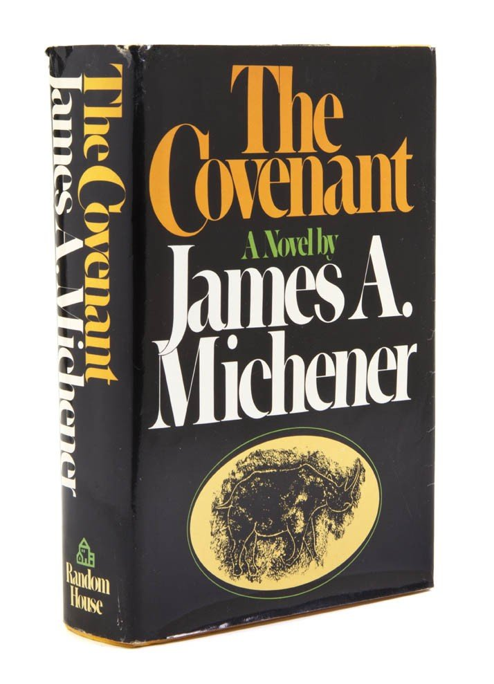 74: MICHENER, JAMES A. The Covenant. New York, (1980).