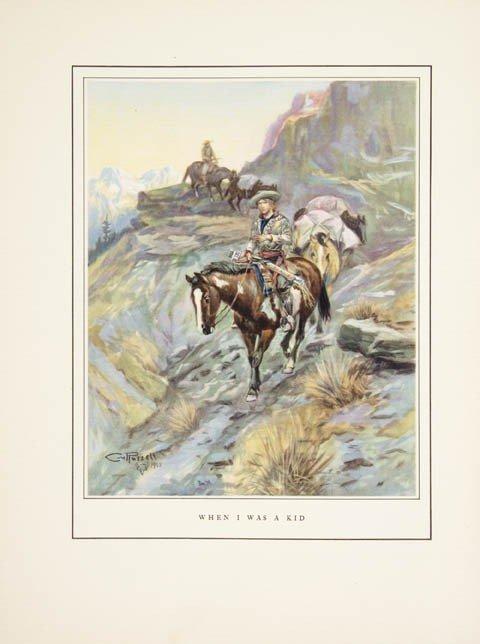 76: RUSSELL, CHARLES M. Good Medicine. Garden City; New
