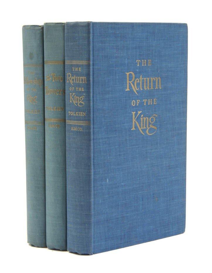 81: TOLKIEN, J. R. Three first US editions. Boston, 195