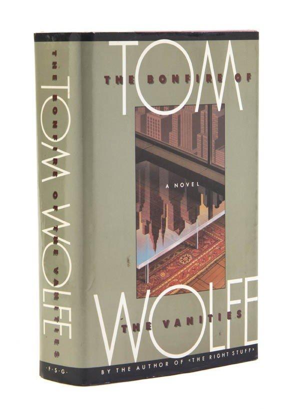 83: WOLFE, TOM. Bonfire of the Vanities. New York, (198