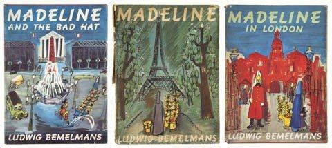 84: (CHILDRENS LITERATURE) BEMELMANS, LUDWIG. Madeline.