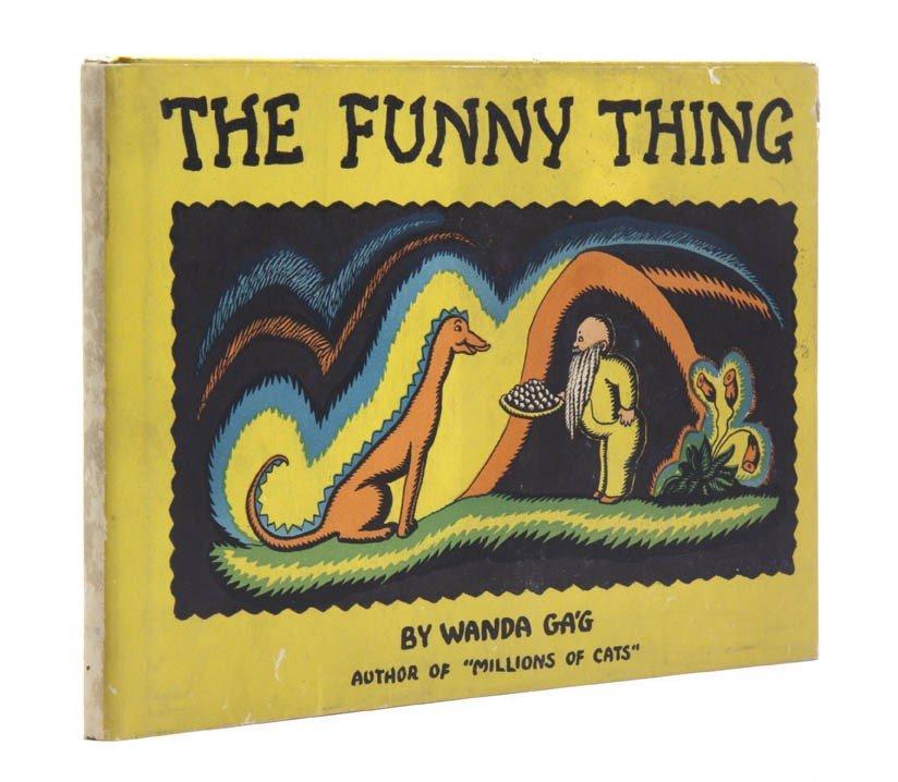86: (CHILDRENS LITERATURE) GA'G, WANDA. The Funny Thing