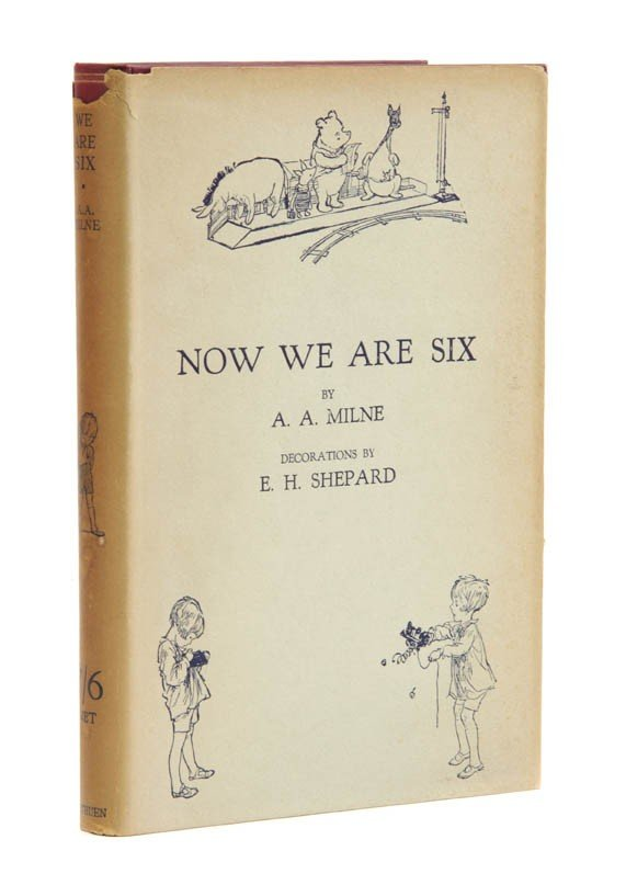87: (CHILDRENS LITERATURE) MILNE, A. A. Now We Are Six.