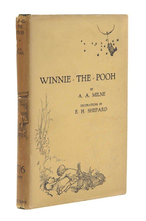 88: (CHILDRENS LITERATURE) MILNE, A. A. Winnie-the-Pooh