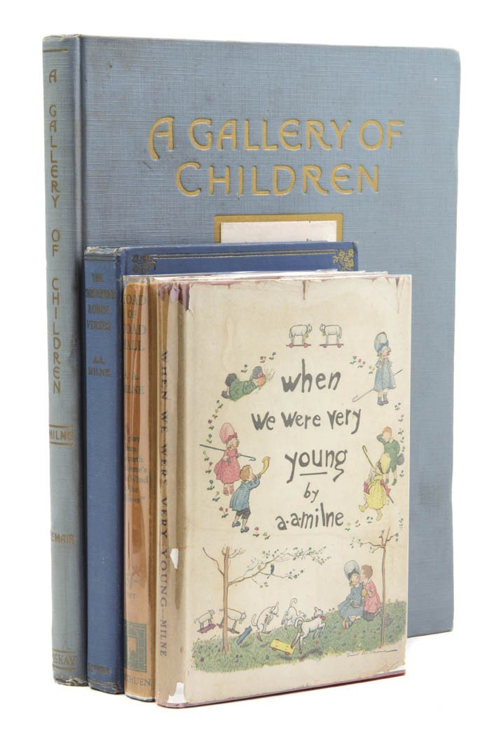 89: (CHILDRENS LITERATURE) MILNE, A. A. A group of four