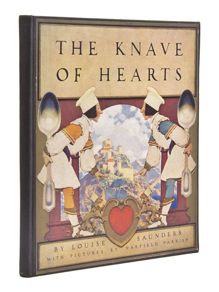 90: (PARRISH, MAXWELL) SAUNDERS, LOUISE. The Knave of H