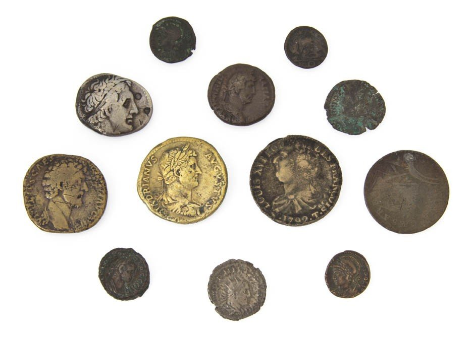 369: A Collection of Roman and Greek Coins,