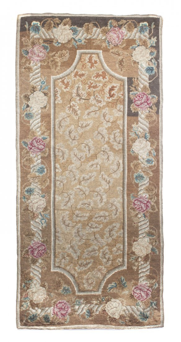 6: An Aubusson Wool Tapestry, Height 70 1/2 x width 33