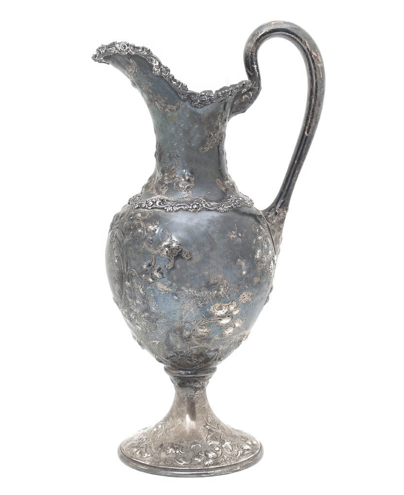 168: An American Sterling Silver Water Pitcher, Height