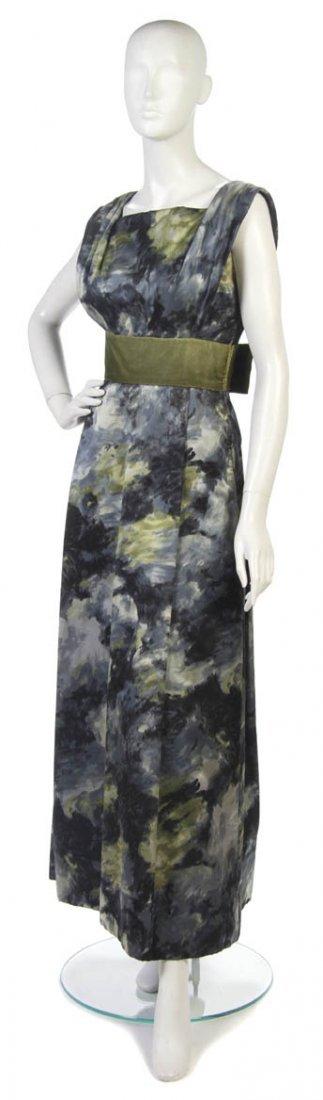 6: A Meme Dysthe Multicolor Silk Satin Evening Gown,