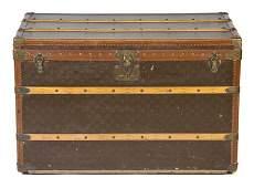 365 A Louis Vuitton Monogram Canvas Steamer Trunk 36