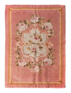 13: An Aubusson Wool Panel, 4 feet 7 1/2 inches x 3 fee