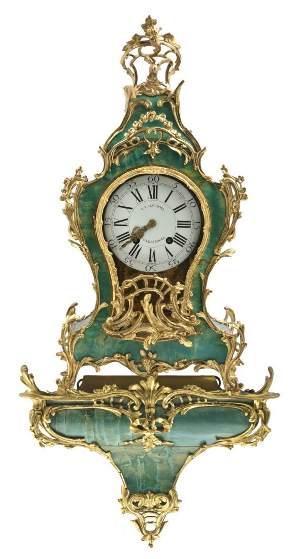 136: A French Faux Malachite and Gilt Bronze Mounted Br