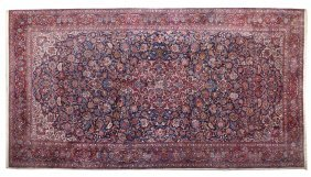 A Jozan Sarouk Wool Rug, 10 Feet 1/4 Inches X 18