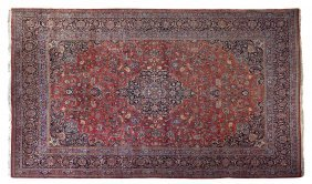 A Tabriz Wool Rug, 17 Feet 4 Inches X 11 Feet 8 1