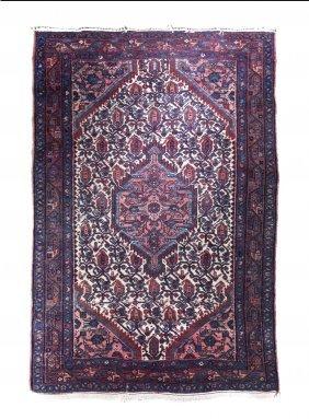 A Tabriz Wool Rug, 5 Feet 1 Inch X 3 Feet 6 Inche