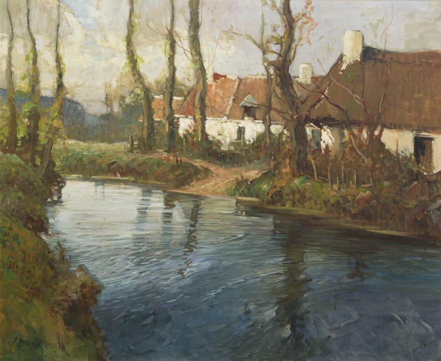 2: George Ames Aldrich, (American, 1872-1941), Cottages