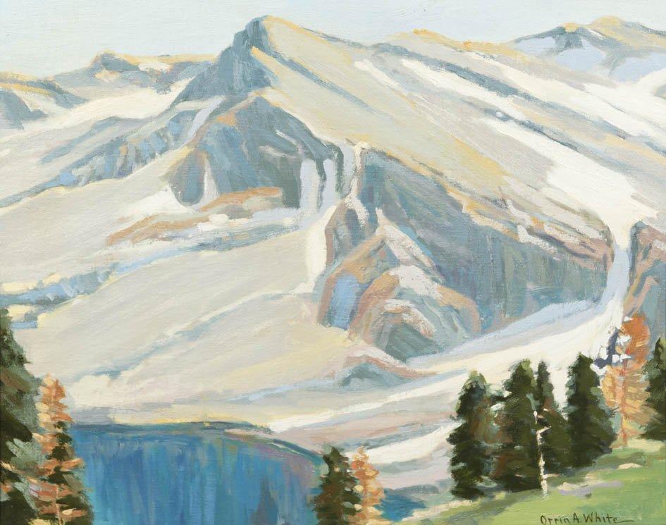 5: Orrin A. White, (American, 1883-1969), Mountain Scen